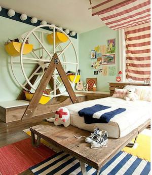 呵护有加可爱儿童房装修效果图
