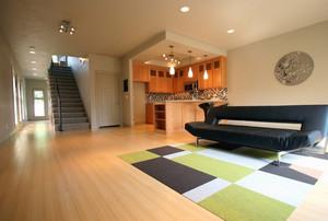 宽敞客厅装饰