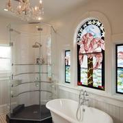 洗手间浴缸布置