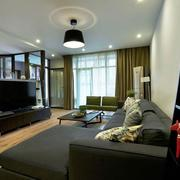 房子客厅电视背景墙