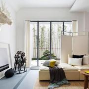 个性公寓卧室推拉门展示