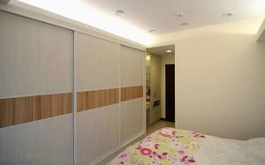 100平米精致粗犷有质感公寓客厅卧室装修效果图