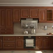 整体厨房木质橱柜