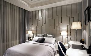 2015简约舒适的美式风格卧室装修效果图