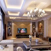 客厅石膏线客厅吊顶装饰