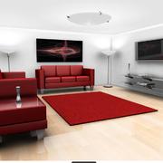 小户型方形客厅图片