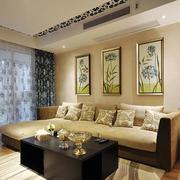 小户型公寓客厅窗帘