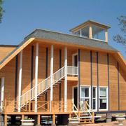 简约的木屋