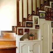 个性楼梯装饰图