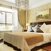 高贵卧室背景装修