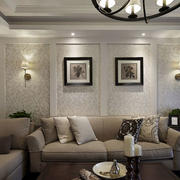 房屋沙发背景装饰