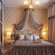 别墅时尚卧室窗帘