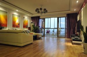 三室一厅客厅窗帘