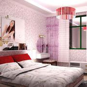 温馨暖色卧室