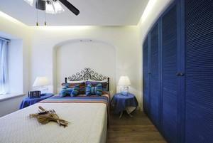 带你走进田园地中海风格三室一厅房屋装修设计效果图