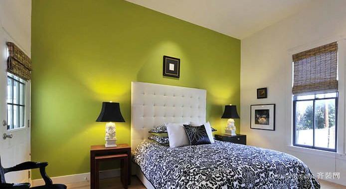 138平米公寓楼精装小卧室装修效果图