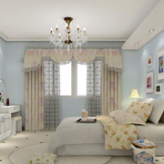 浅蓝色卧室装修案例