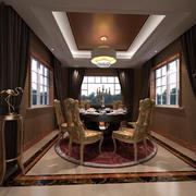 别墅欧式餐厅设计