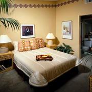 暖色精致小卧室