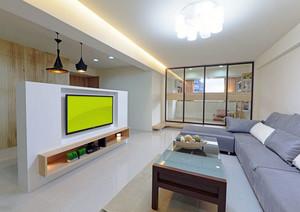 小户型家庭客厅装修