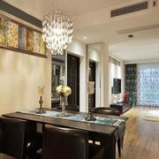 小户型公寓餐厅灯饰展示