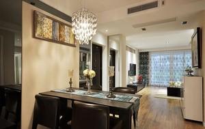 简约温馨90平米小户型单身公寓装修效果图