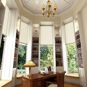 别墅大型书房