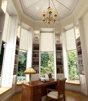 让人眼前一亮的东南亚风格书房设计装修效果图大全