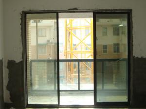 中式跃层别有洞天阳台推拉门效果图