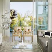 家庭时尚玻璃门图片