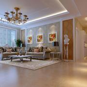 简欧风格客厅沙发