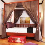 中式别致古典卧室床