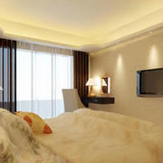 卧室简约窗帘设计