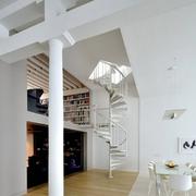 独特旋转楼梯设计