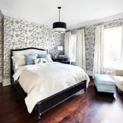 卧室经典时尚背景墙