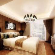 现代暖色卧室设计