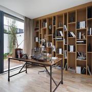 公寓大书柜装饰