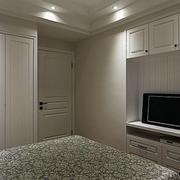房屋卧室电视柜设计图