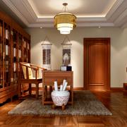 古典书房书柜