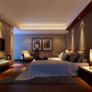 时尚暖色卧室欣赏