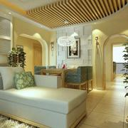 温馨浪漫三室一厅设计