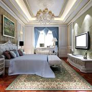 别墅简约白色卧室图