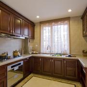 美式木质厨房