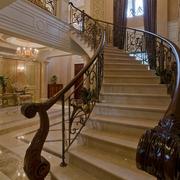 铁艺旋转楼梯设计