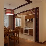 中式厨房门装饰