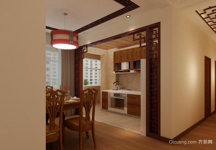 无可挑剔的木质厨房设计装修效果图鉴赏