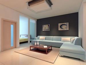 气氛的都市小户型卡座沙发背景墙设计效果图鉴赏