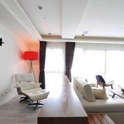 公寓简约白色吊顶装饰