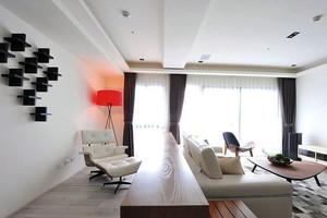 别有情调的美式三居型单身汉公寓装修效果图