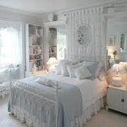 公主房卧室飘窗展示